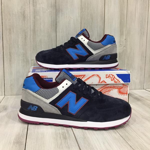 Кроссовки мужские  New Balance темно-синие