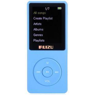 Mp3 Ruizu X02 8GB Blue
