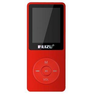 Mp3 Ruizu X02 8GB Red