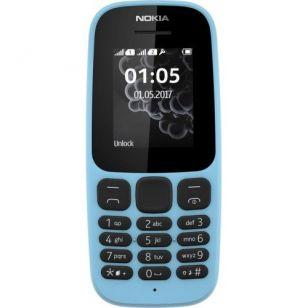 Nokia 105 New Dual Sim Blue