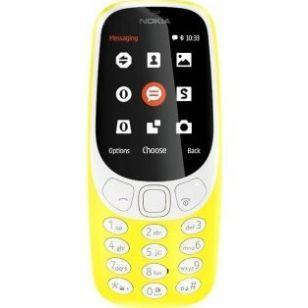 Nokia 3310 Dual Sim Yellow