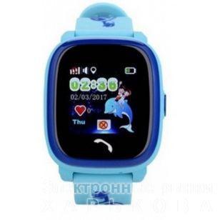 SMART BABY WATCH Q100 Aqua Blue - Умные часы и фитнес браслеты на рынке  Барабашова ff519abe78c3c