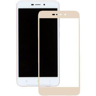 Защитное стекло 3D Xiaomi Redmi 4A Gold