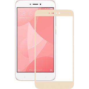 Защитное стекло 3D Xiaomi Redmi 4x Gold