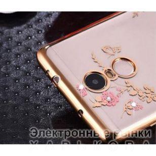 Силиконовый чехол для Meizu U10 (Gold) Luxury - Чехлы для телефонов, mp3 плееров на рынке Барабашова