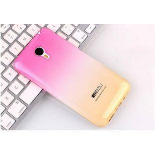 Фото Аксессуары, Чехлы для смартфонов, Оригинал телефон, Чехлы Meizu Силиконовых чехол Meizu U10  (розово-желтый)