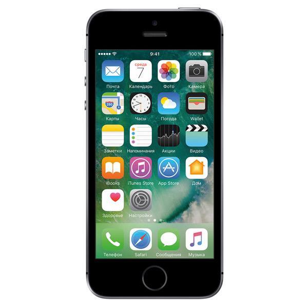Смартфон Apple iPhone SE 32GB Space Grey (MP822RU/A)