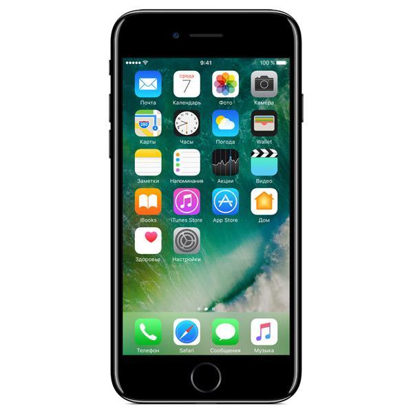 Смартфон Apple iPhone 7 32Gb Jet Black (MQTX2RU/A)