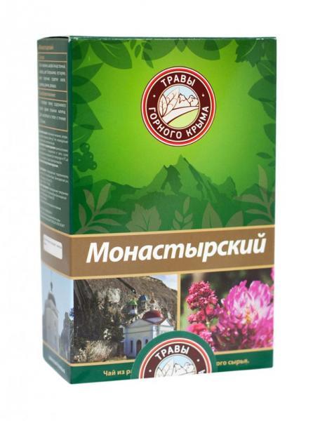 Крымский фиточай Монастырский, 100 г