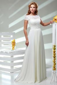 Фото Свадебные платья Николетта (от 48 размера с рукавом 3/4)