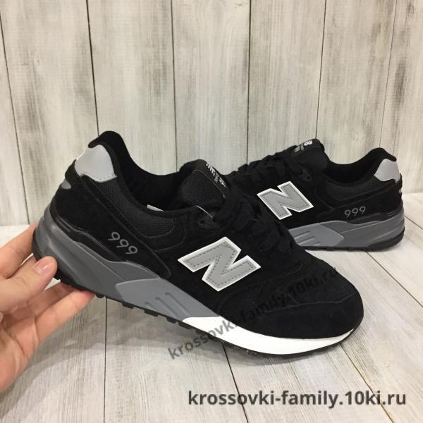 Фото Мужские кроссовки Мужские кроссовки New balance черные