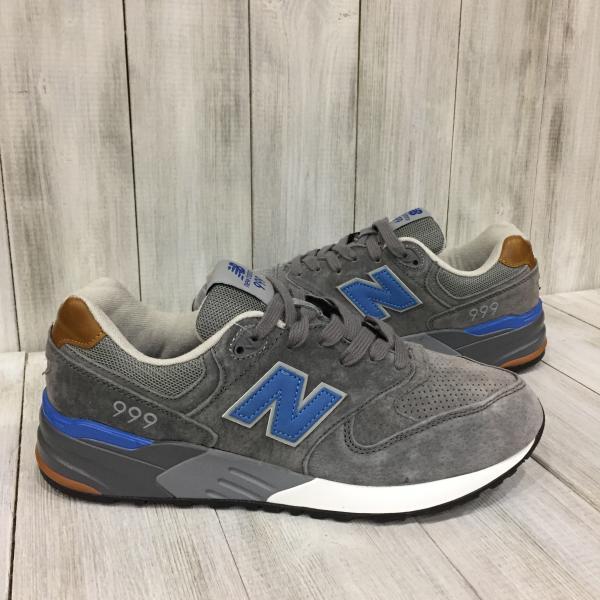 Мужские кроссовки New balance серые