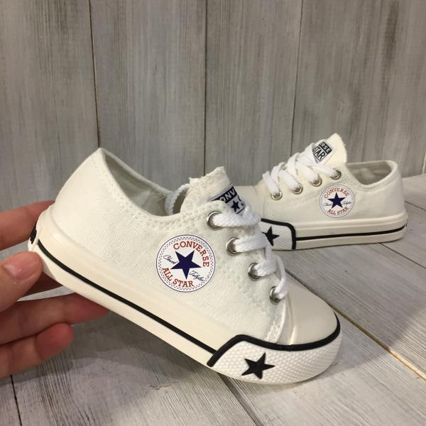 Кеды детские Converse белыве