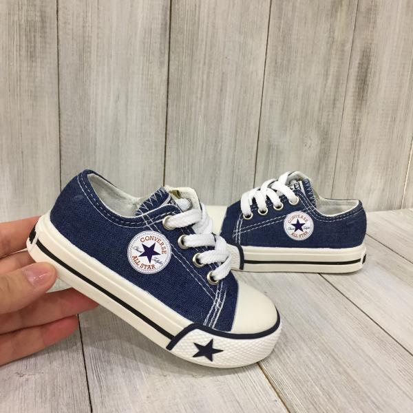 Кеды детские Converse синие