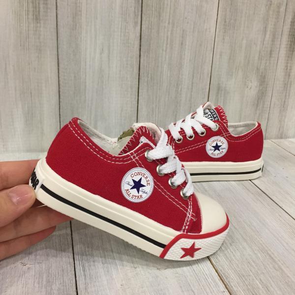 Кеды детские Converse красные