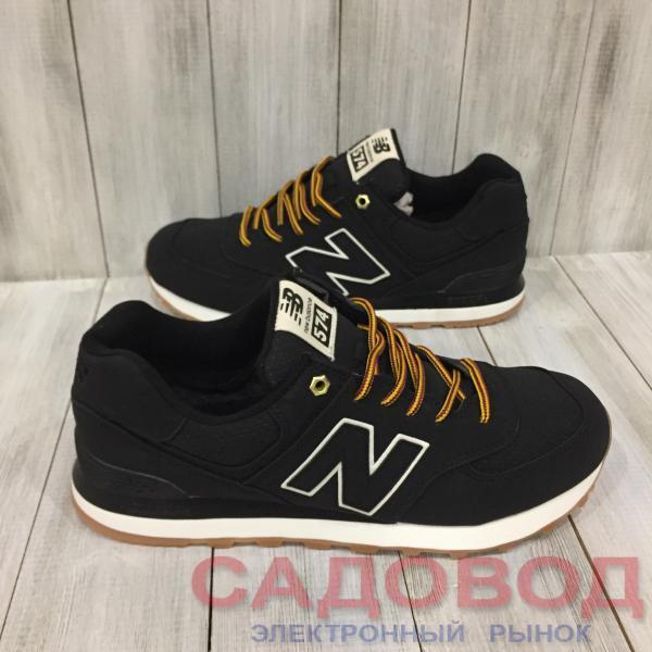 Кроссовки мужские  New Balance черные