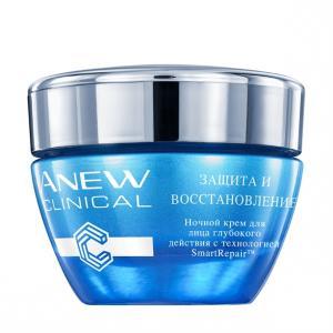 Фото Anew Clinical (Для любого возроста) Нічний крем для обличчя поглибленної дії «Захист і відновлення», 30 мл