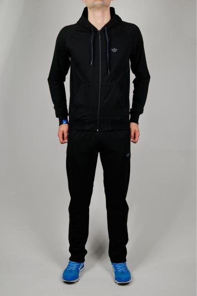 Мужской спортивный костюм Adidas Черный/синий