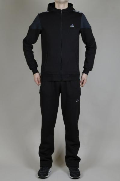 Мужской спортивный костюм Adidas Черный/серый