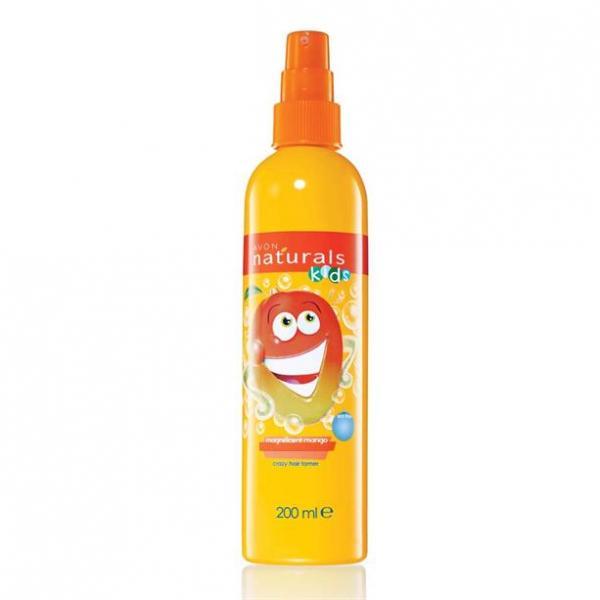 Дитячий спрей для полегшення розчісування волосся «Грайливе манго», 200 мл