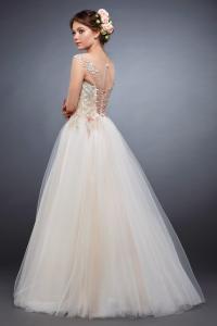 Фото Свадебные платья Стильное легкое свадебное платье Акварель