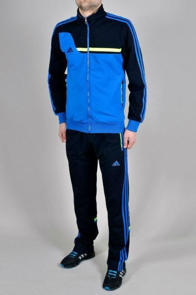 Мужской спортивный костюм Adidas Синий/голубой