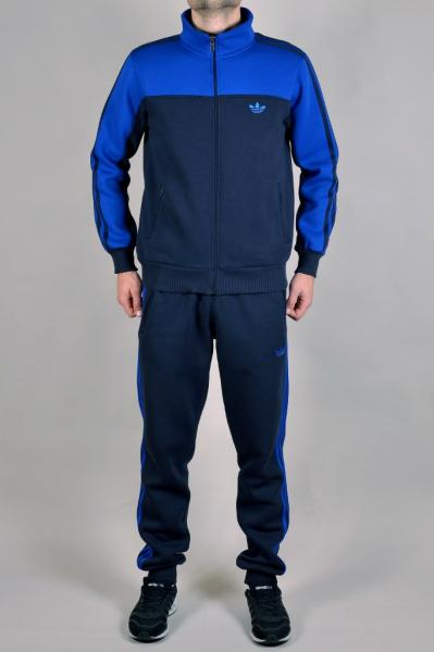 Мужской спортивный костюм Adidas Синий