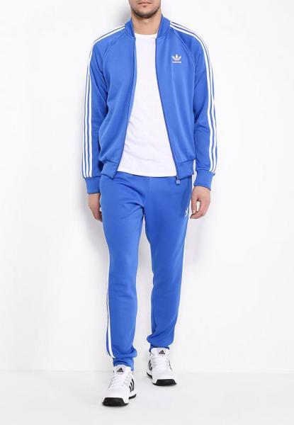 Мужской спортивный костюм Adidas Голубой