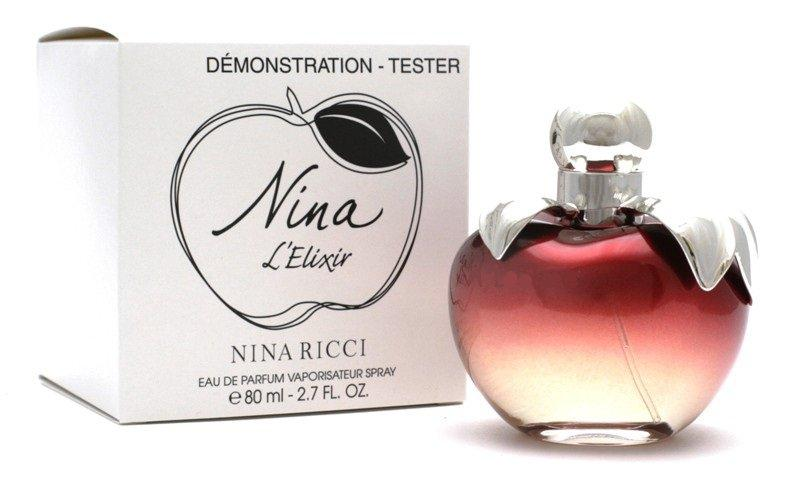 Фото ТЕСТЕРА женских духов Духи Nina Ricci Nina L`Elixir Tester 80 ml