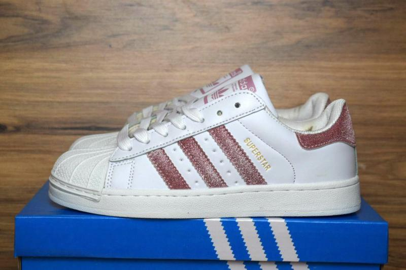 Adidas Superstar White Pink (36-40)