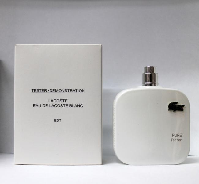 Духи Eau De Lacoste L.12.12 Blanc Tester 100 ml Для Мужчин