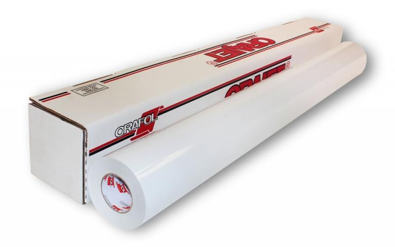 Самоклеящаяся пленка для сольвентной печати Orajet 3640 белая