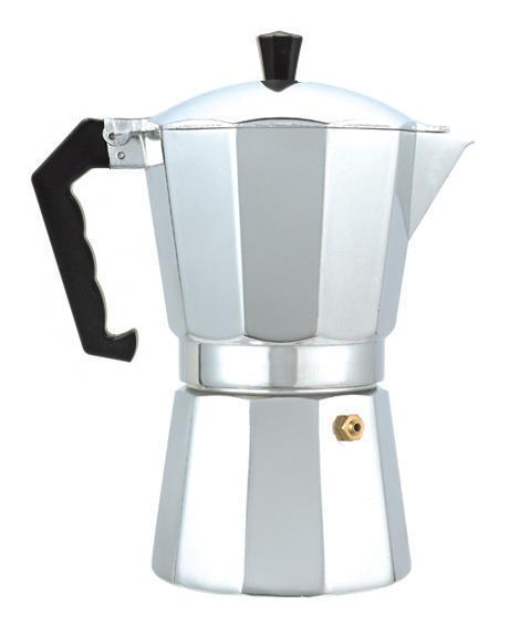 Гейзерная кофеварка из алюминия на 9 чашечек- 450 мл