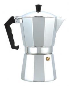 Фото  Гейзерная кофеварка из алюминия на 9 чашечек- 450 мл