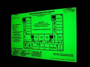 Фото Светящаяся продукция Люминесцентная бумага