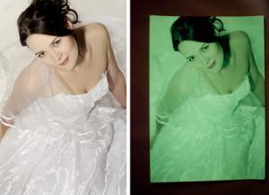 Фото Светящаяся продукция Люминесцентная фотобумага