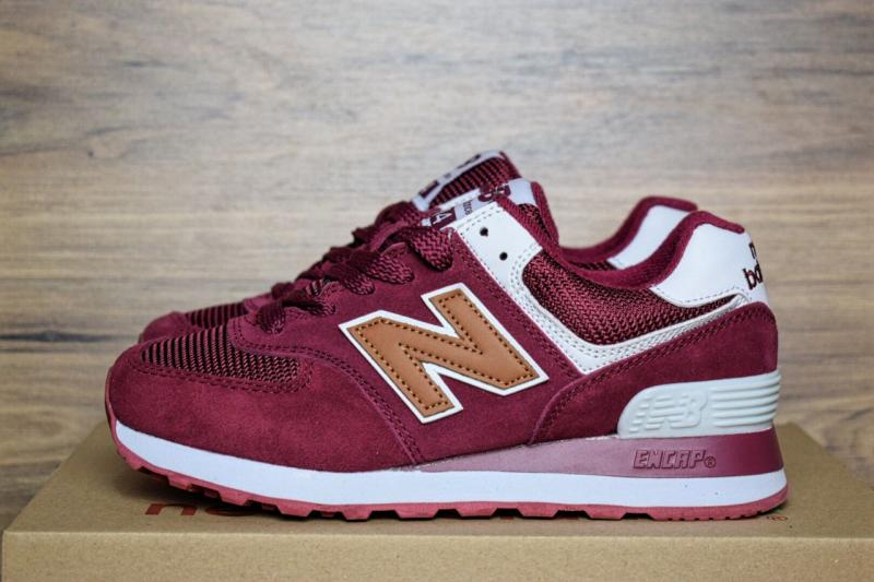 New Balance 574 Bordo Brown (36-40)