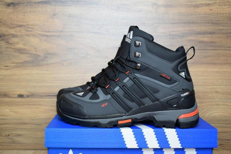 Adidas Terrex Black Gray Orange (41-45)