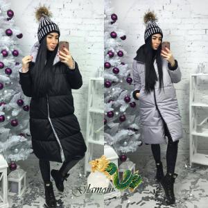 Фото КУРТКИ, ПАЛЬТО, ПАРКИ ЖЕНСКИЕ Двухсторонняя куртка- пальто