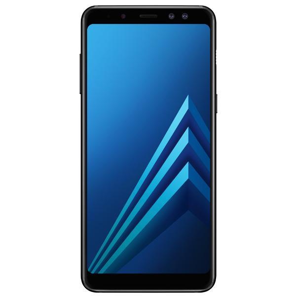 Смартфон Samsung Galaxy A8 Black (2018)
