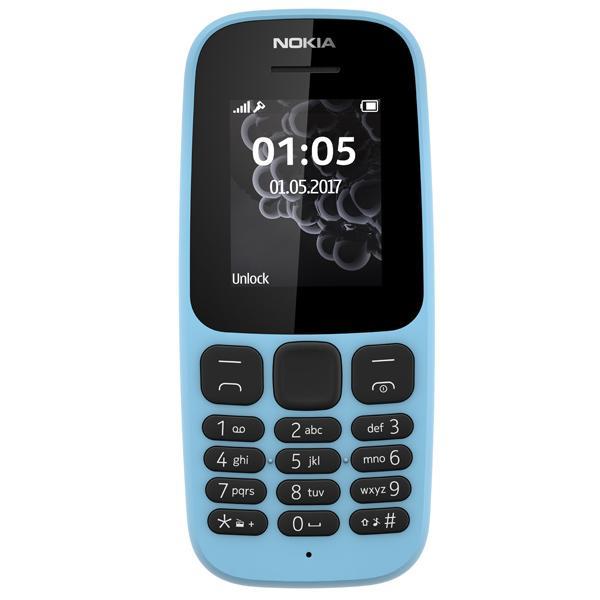 Мобильный телефон Nokia 105 Blue