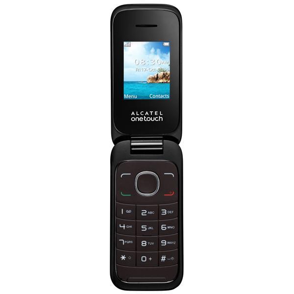 Мобильный телефон Alcatel OT1035D (2SIM) Dark Chocolate