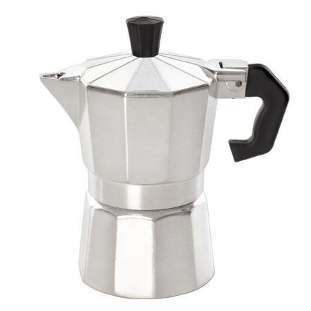 Гейзерная кофеварка из алюминия на 6 чашечек- 300 мл