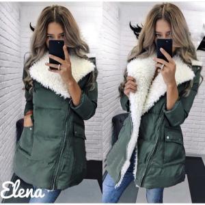 Фото КУРТКИ, ПАЛЬТО, ПАРКИ ЖЕНСКИЕ Модные куртки с мехом 525