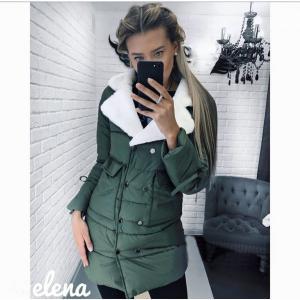 Фото КУРТКИ, ПАЛЬТО, ПАРКИ ЖЕНСКИЕ Модные куртки с меховым воротником N 535