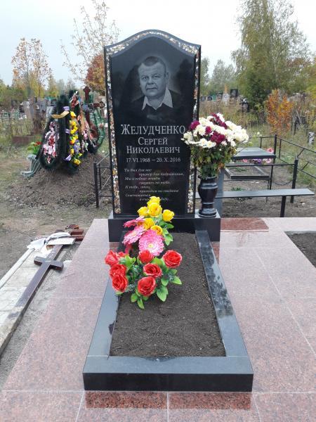 """Памятник """"Мономах"""" с инкрустацией"""