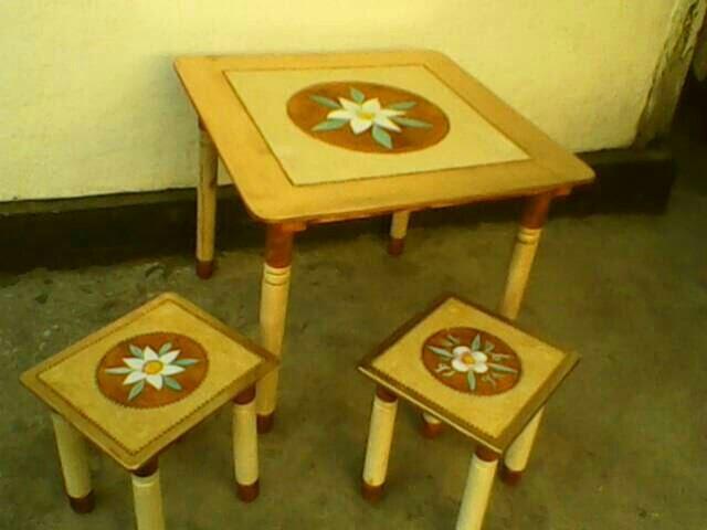 Детский столовый комплект мебели