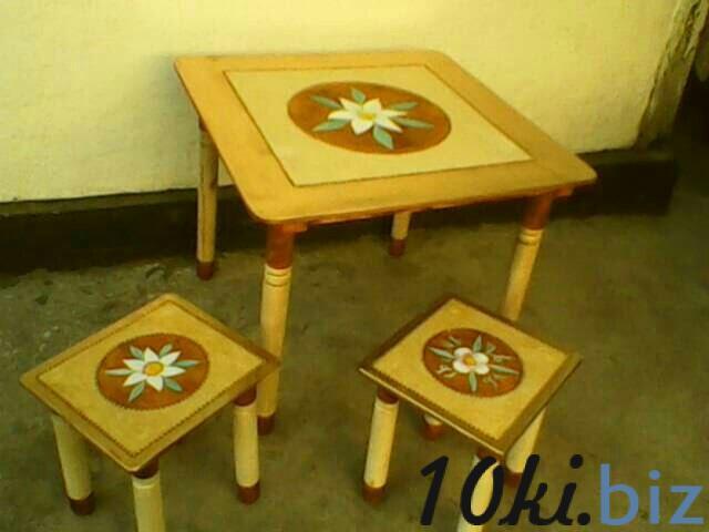Детский столовый комплект мебели Детские стульчики и табуретки в Казахстане