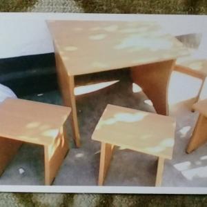 Фото  Детский мебельный комплект
