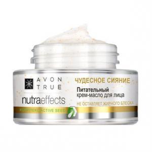 Фото Nutra Effect Здоровое сияние 20+ Живильний крем для обличчя «Чудове сяйво» з додаванням олій (50 мл)